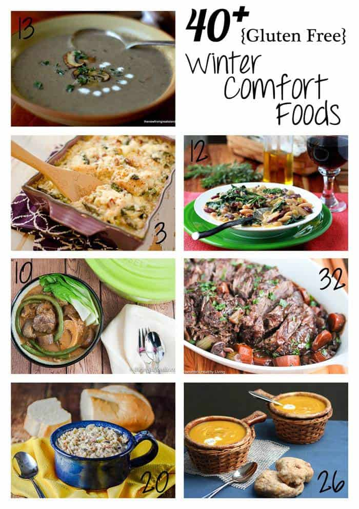 40+ Gluten Free Comfort Foods - any kind of comfort food recipe you could want, from casseroles and soups to stews and slow cooker meals, and all gluten-free! | cupcakesandkalechips.com