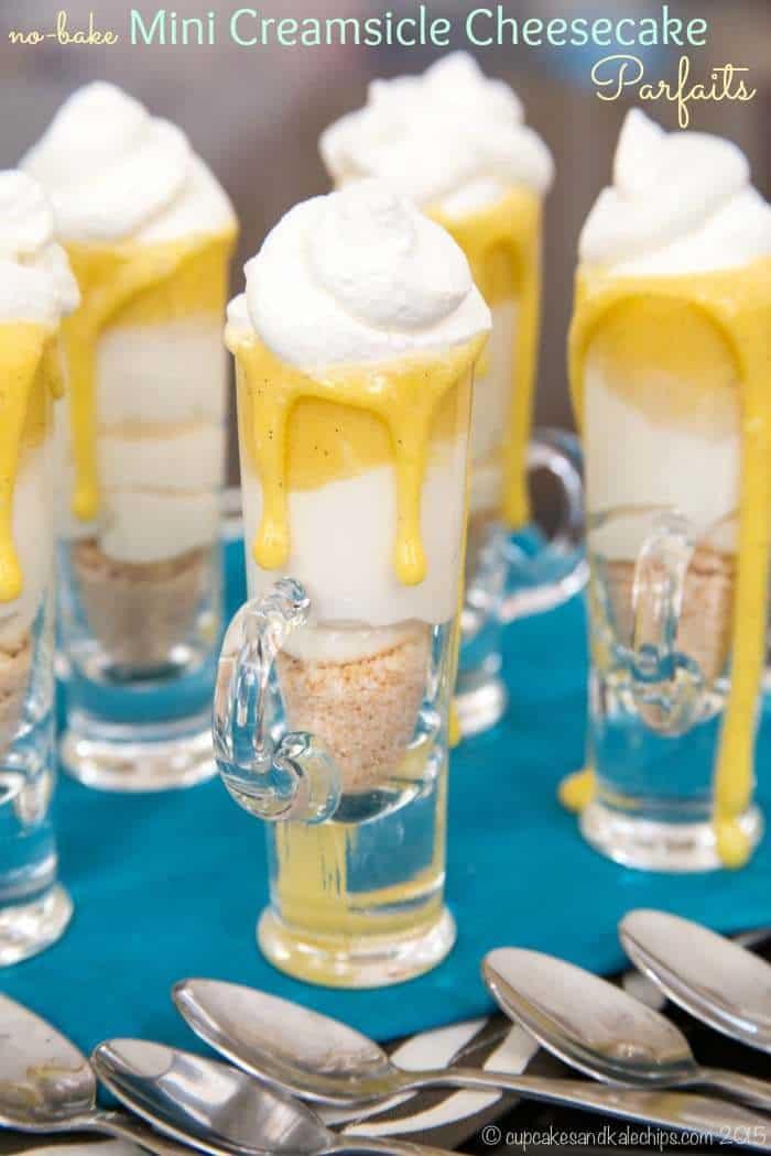 Creamsicle Cheesecake Parfaits recipe 0703 title