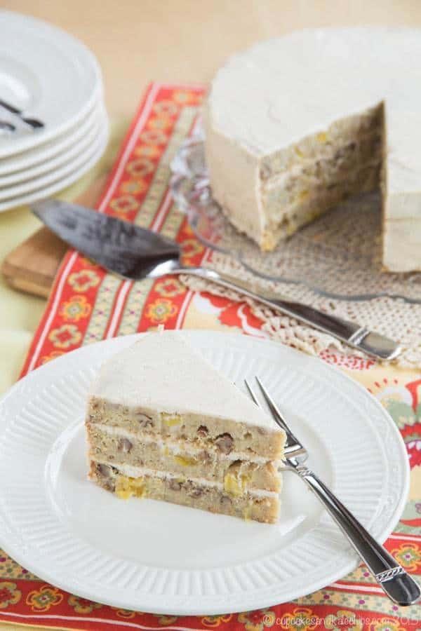 Hummingbird Cake Almond Flour