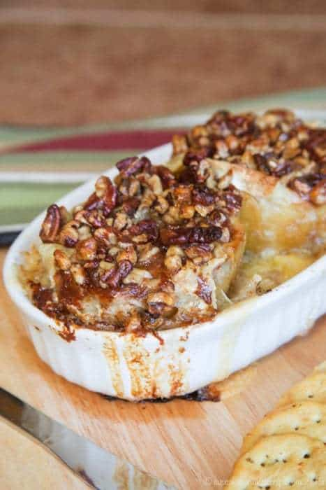 Honey Nut Baked Brie Bloomin' Apples is one of the best baked brie appetizers