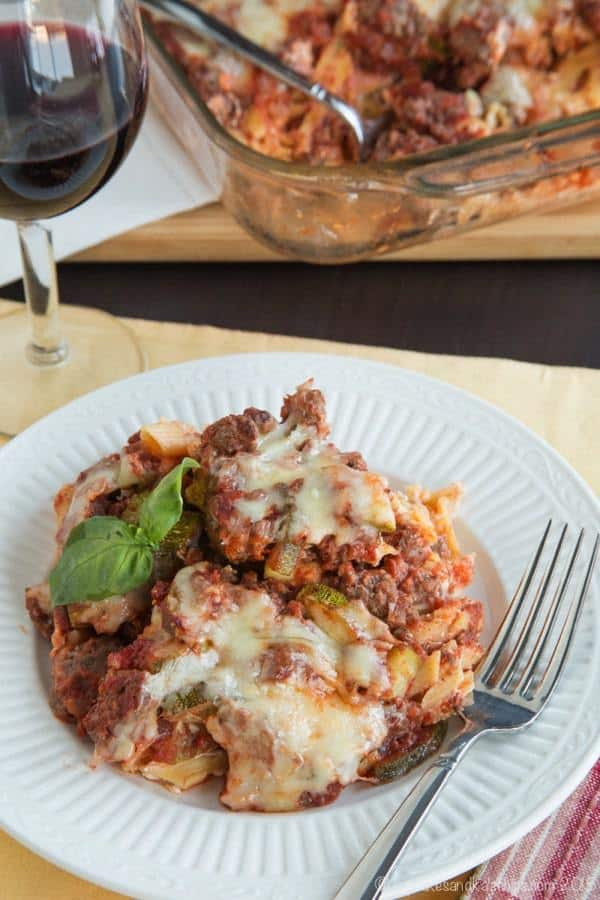 Italian Pasta Casserole Recipe