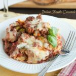 Italian Noodle Casserole for #SundaySupper with @GalloFamily