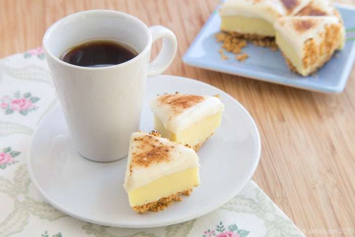 Quick No Bake Desserts like Lemon Meringue Pie Fudge recipe