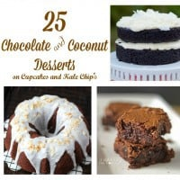 25 Chocolate and Coconut Desserts square