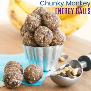 Chunky Monkey Energy Balls