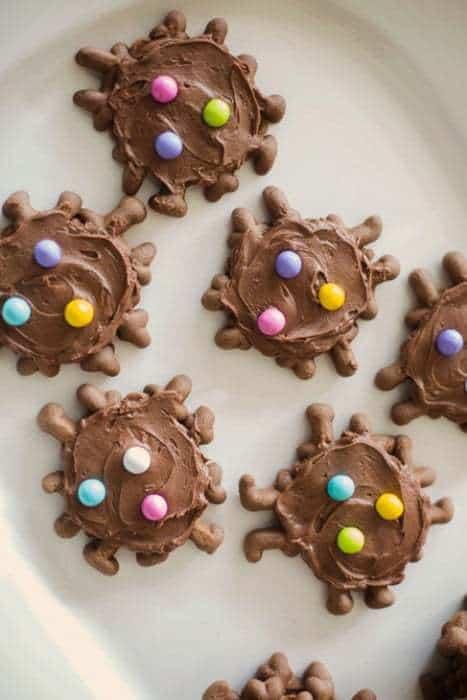 Gluten Free Chocolate Waffle Cookies