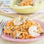 Honey Walnut and Blue Cheese Shrimp for #SundaySupper with @GalloFamily