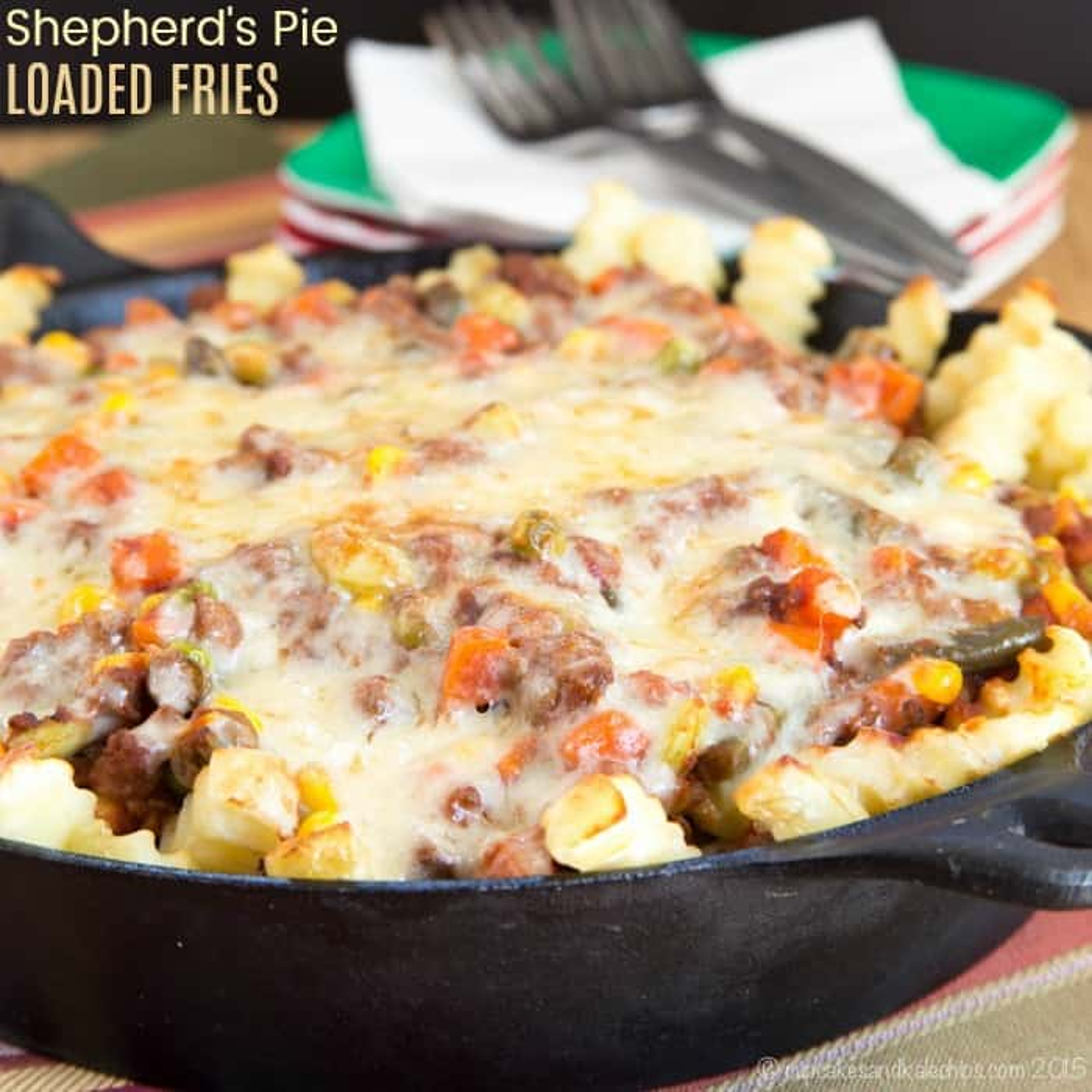 Shepherd's Pie Loaded Fries