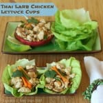Thai Larb Chicken Lettuce Cups 1 title