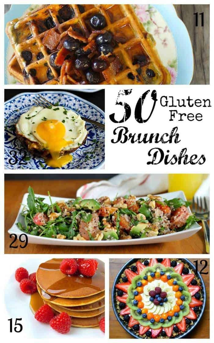 50 Gluten Free Brunch Recipes - all of your sweet and savory favorites, from pancakes, waffles and granola to eggs, casseroles, and potatoes. | cupcakesandkalechips.com