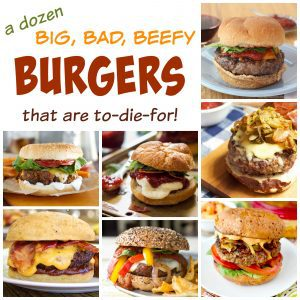 Beef Burgers Collage Square