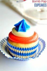Bomb Pop Cupcakes Recipe