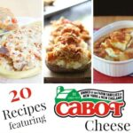 20 Recipes featuring Cabot Cheese & #CabotCookbook #Giveaway