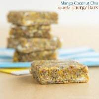 Mango Coconut Chia No Bake Energy Bars Recipe-2125 title
