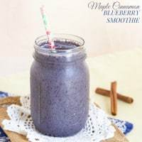 Maple Cinnamon Blueberry Smoothie recipe-2038 title