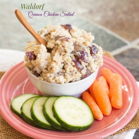 Waldorf Quinoa Chicken Salad