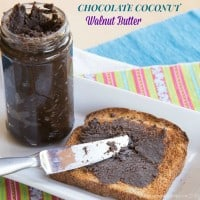 Chocolate Coconut Walnut Butter recipe-2556 title