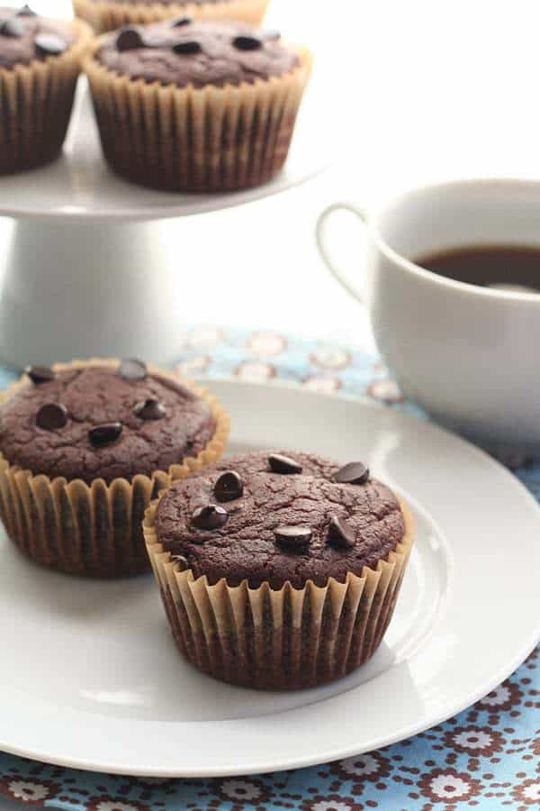 Double Chocolate Blender Muffins 4