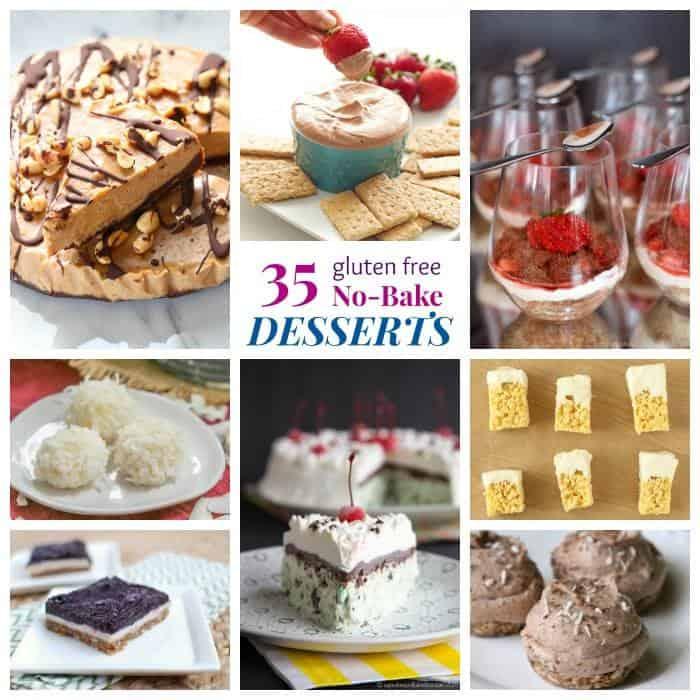 35 Gluten Free No Bake Dessert Recipes - Cupcakes & Kale Chips