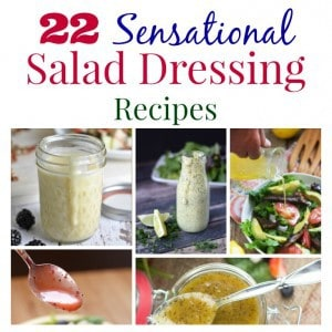 Salad Dressing Recipes Square Collage