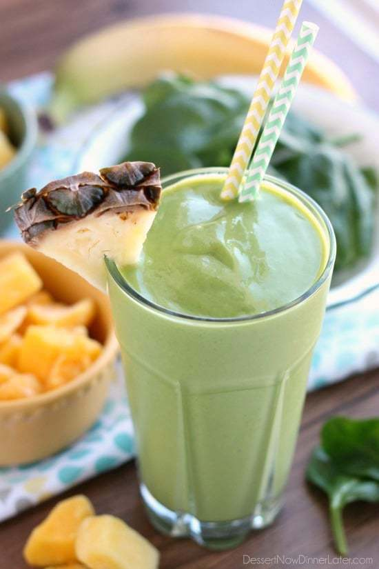 Tropical Green Smoothie1