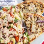 Bacon Barbecue Ranch Salad for a California Pizza Kitchen Gluten-Free Pizza Night