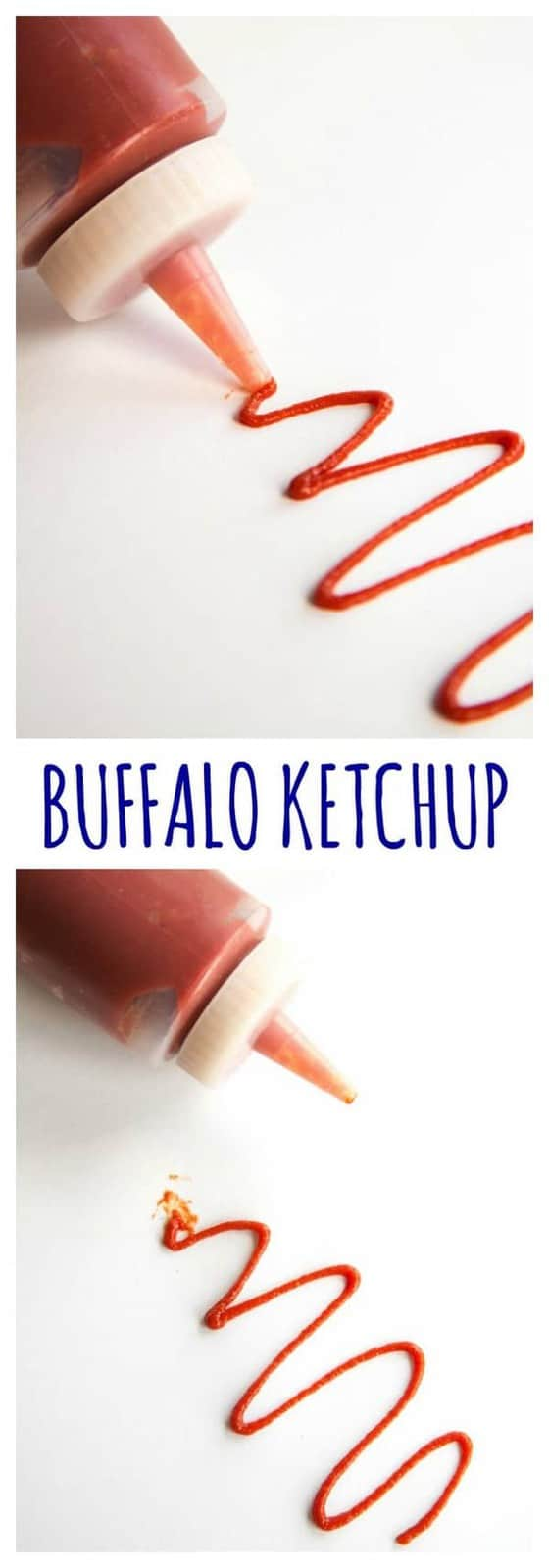 Buffalo Ketchup - kick of the classic condiment with your favorite hot sauce for your burgers and hot dogs, or a spicy dip for fries. | cupcakesandkalechips.com | gluten free, vegan recipe