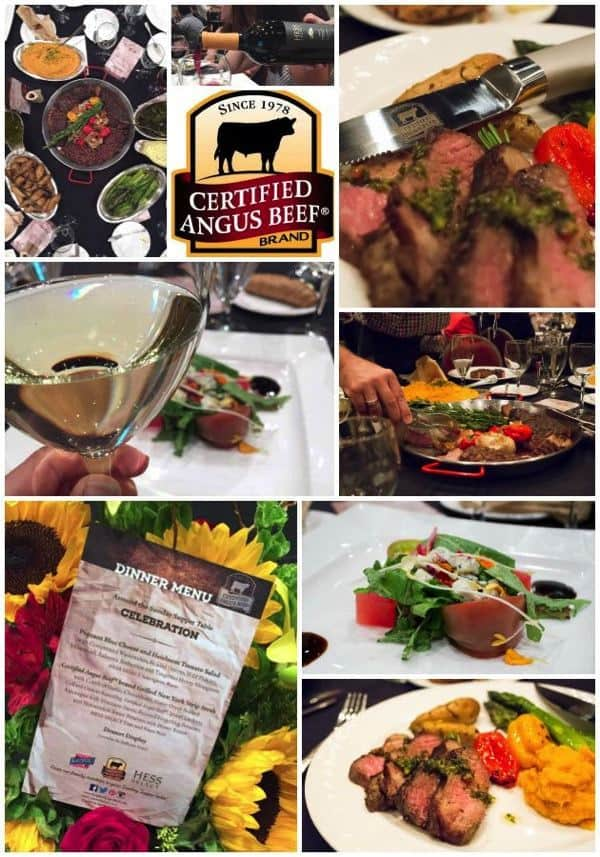 Certified Angus Beef Dinner Collage