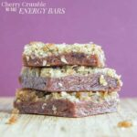 Cherry Crumble No Bake Energy Bars recipe-2761 title