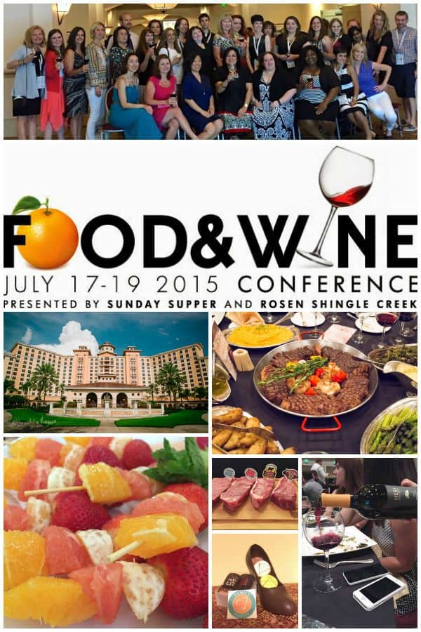 Food and WIne Conference 2015 Recap - if you didn't make it there this year, find out why food bloggers must add it to their list of blogging conferences to attend in 2016! | cupcakesandkalechips.com