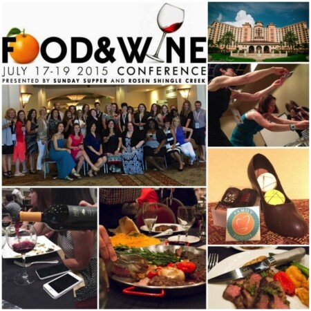 Food and Wine Conference 2015 Recap – #FWCon