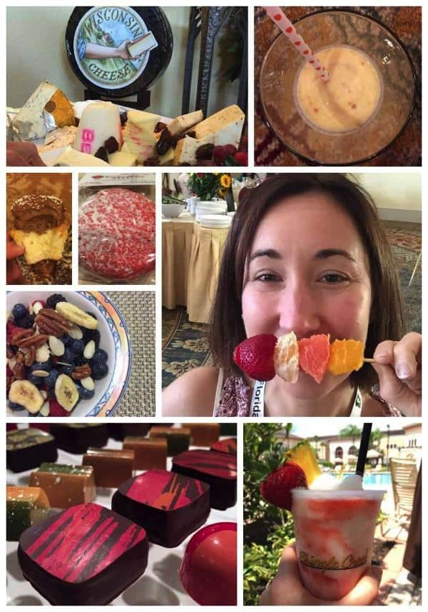 Food and Wine eats Collage