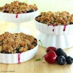 Gluten-Free Blackberry, Blueberry and Cherry Crisp