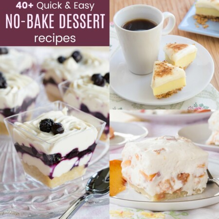 Quick No Bake Dessert Recipes