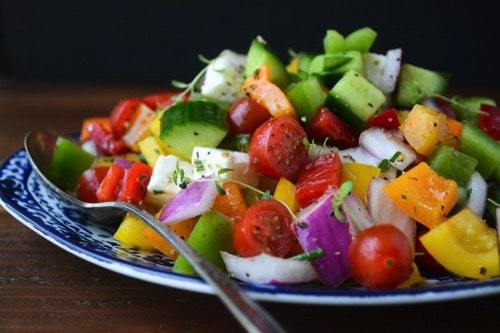 Chopped israeli salad 10