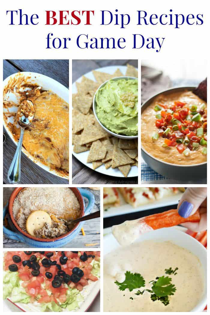 The Best Dip Recipes for Game Day - you need these for your tailgate or football party! | cupcakesandkalechips.com