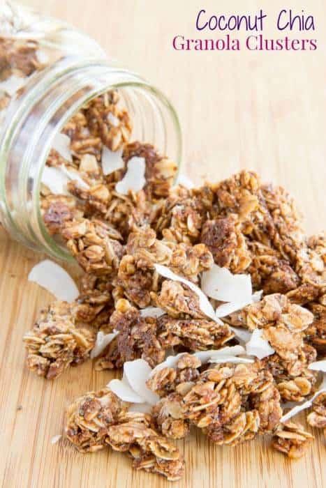Cherry Almond Chia Granola Recipe — Dishmaps