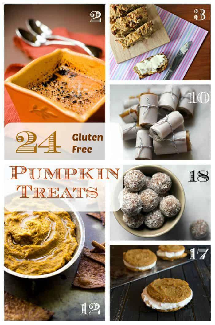 24 Gluten Free Pumpkin Recipes - the best gluten free pumpkin desserts with your favorite fall flavors! | cupcakesandkalechips.com