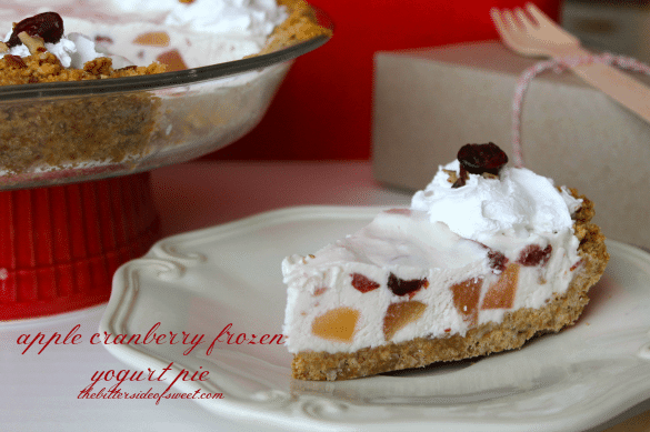 apple-cranberry-frozen-yogurt-pie-thebittersideofsweet.com-4