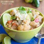 Cauliflower Quinoa Vegan White Chili