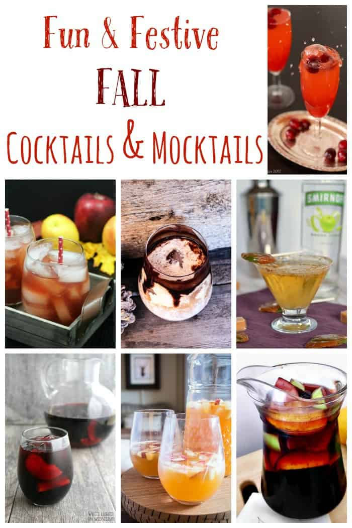Fun and festive fall cocktails and mocktails cupcakes for Fun fall drinks