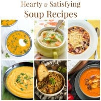 Hearty Satisfying Soup Recipes Collage Square