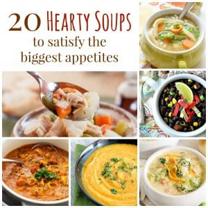 Hearty Soups Collage Square
