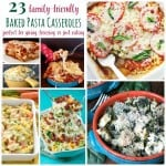 Pasta Casseroles Square Collage