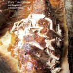 Slow Cooker Pork Tenderloin with Raspberry Habanero Glaze 3 title
