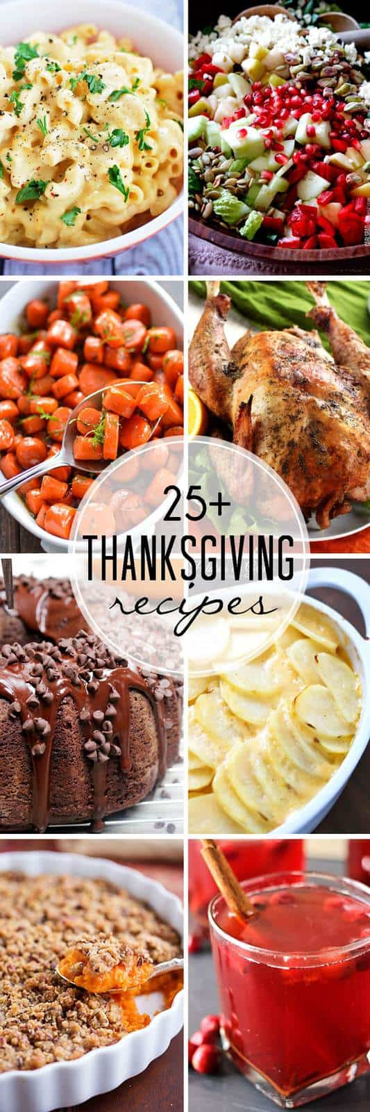 Over 25 of The Best Thanksgiving Recipes - from classic to creative, everything from veggies and sides to drinks and desserts, and of course the star of the show, the turkey, for your Thanksgiving dinner menu! | cupcakesandkalechips.com