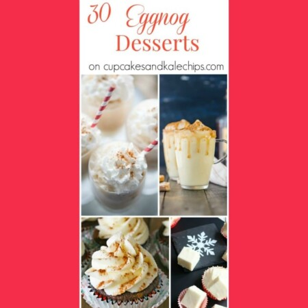 30 Eggnog Dessert Recipes