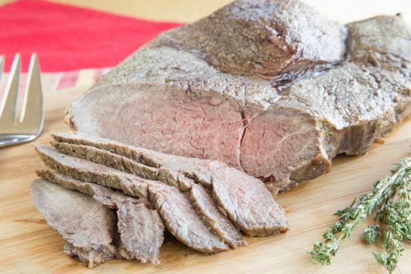 Marinated Beef Tip Roast