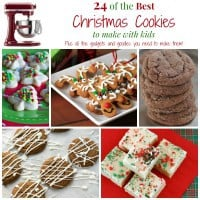 Best Christmas Cookies to Make with Kids square Collage