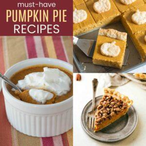 The Best Pumpkin Pie Recipes